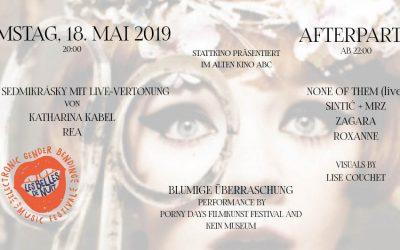 Stattkino 2019 – Les Belles de Nuit Afterparty